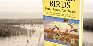 Wright celebrates waterfowling and cooking in his book.