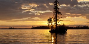 boreal sunset